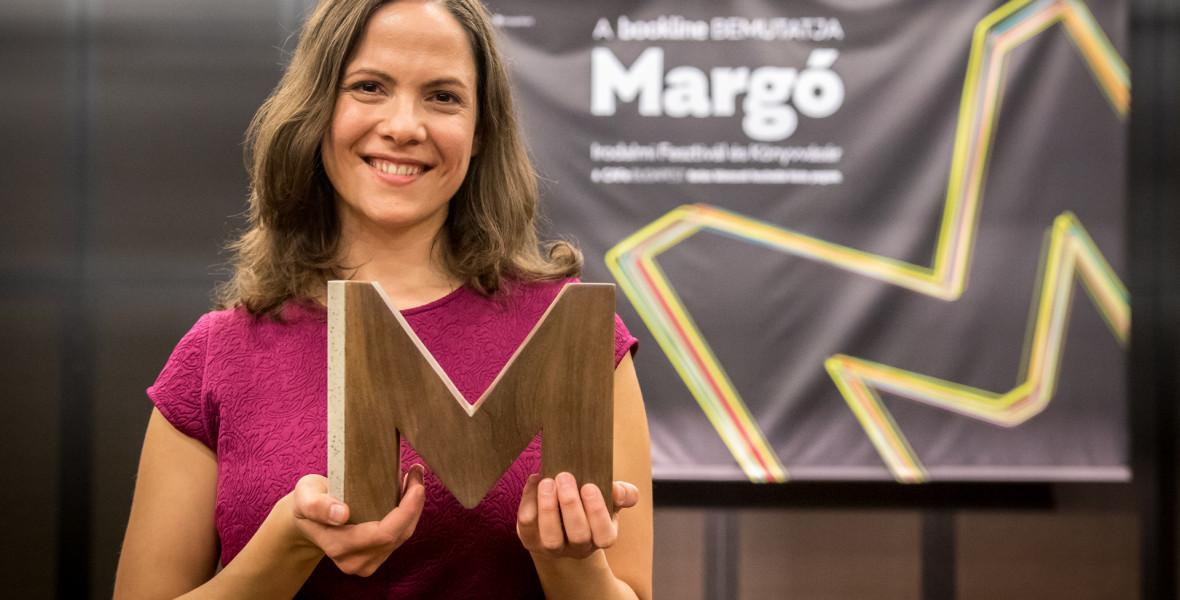 Mécs Anna kapta a Margó-díjat 2018-ban!