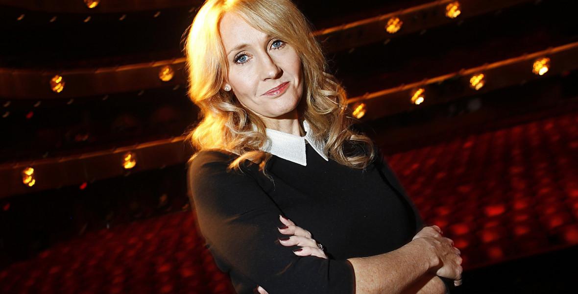 Családon belüli erőszak áldozata volt Rowling