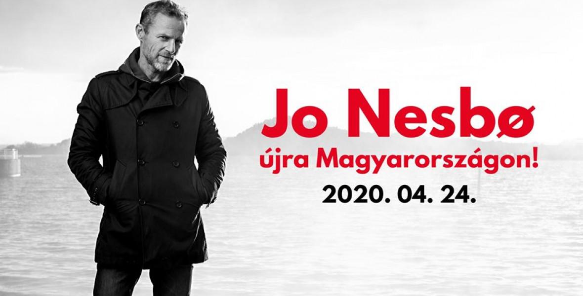 Áprilisban itt találkozhattok Jo Nesbovel!